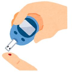 血糖値の測定