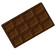 ダーク板チョコ